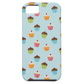 Kawaii cute girly cupcake cupcakes foodie pattern iPhone 5 covers
