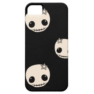 Kawaii cute goth girly skull emo skulls pattern iPhone 5 case