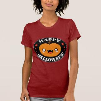 Kawaii Cute Halloween Pumpkin T-shirt