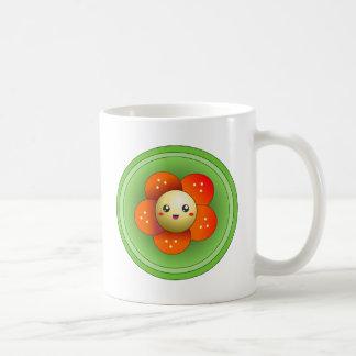 Kawaii Cute Happy Flower Mug