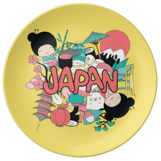 Kawaii Cute Japan! Plate