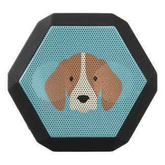 Kawaii Cute Little Puppy Dog. Black Bluetooth Speaker
