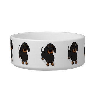 Kawaii Cute Little Puppy Dog. Dachshund! Pet Water Bowls