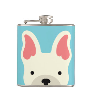 Kawaii Cute Little Puppy Dog. Flasks