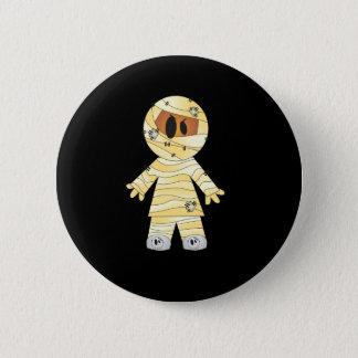 Kawaii Cute Mummy Halloween 6 Cm Round Badge