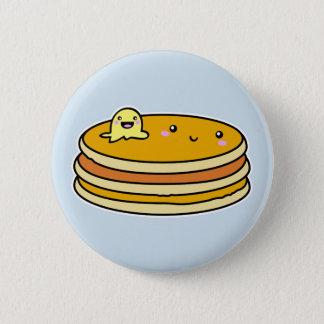 Kawaii Cute Pancake button