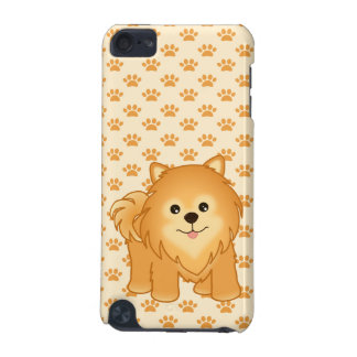Kawaii Cute Pomeranian Puppy Dog Cartoon Animal iPod Touch (5th Generation) Covers