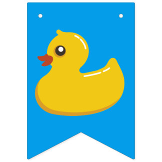 Kawaii Cute Rubber Ducky Bunting