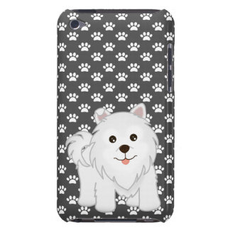 Kawaii Cute Samoyed Puppy Dog Cartoon Animal Barely There iPod Cover