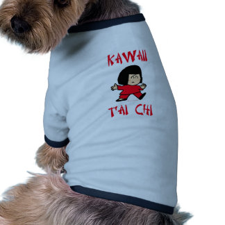 kawaii cute tai t ai chi martial arts chibi dog clothing