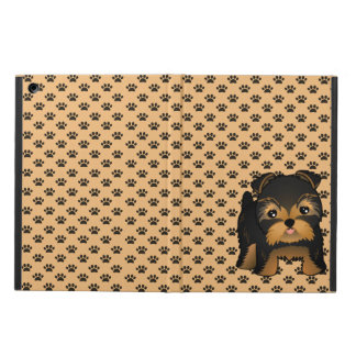 Kawaii Cute Yorkshire Terrier Puppy Dog iPad Air Cover
