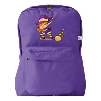 Kawaii Dabbing Witch Backpack