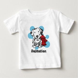 Kawaii Dalmatian & Fire Hydrant Baby's TShirt