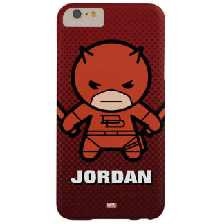 Kawaii Daredevil With Paired Short Sticks Barely There iPhone 6 Plus Case