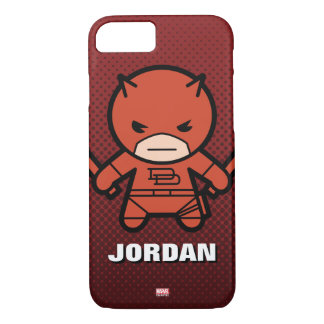 Kawaii Daredevil With Paired Short Sticks iPhone 8/7 Case