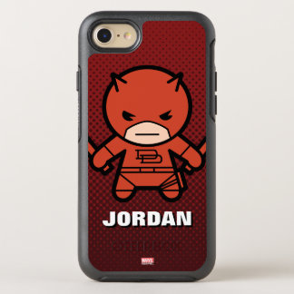 Kawaii Daredevil With Paired Short Sticks OtterBox Symmetry iPhone 8/7 Case