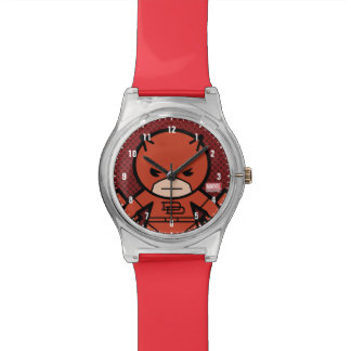 Kawaii Daredevil With Paired Short Sticks Watch