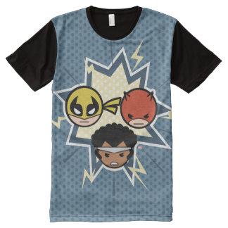 Kawaii Defenders All-Over Print T-Shirt