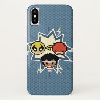 Kawaii Defenders iPhone X Case