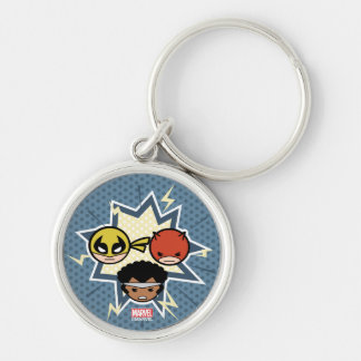 Kawaii Defenders Key Ring