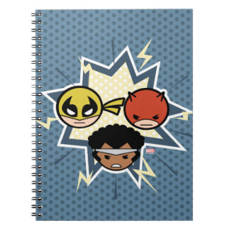 Kawaii Defenders Notebooks