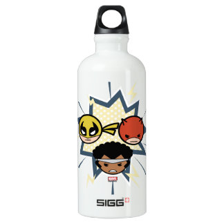 Kawaii Defenders Water Bottle