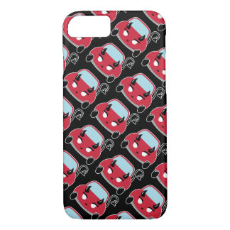 Kawaii Devil Cat Car iPhone 7 Case