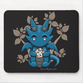 Kawaii Dice Dragon Mousepad