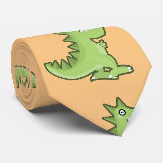 Kawaii Dinosaur Tie
