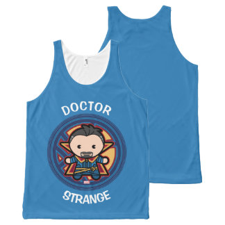 Kawaii Doctor Strange Emblem All-Over Print Singlet