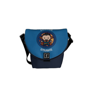 Kawaii Doctor Strange Emblem Courier Bag