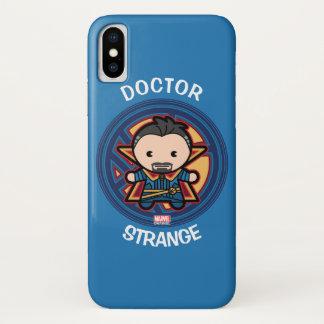 Kawaii Doctor Strange Emblem iPhone X Case