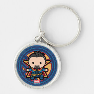 Kawaii Doctor Strange Emblem Key Ring