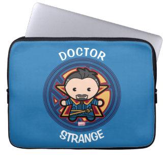 Kawaii Doctor Strange Emblem Laptop Sleeve