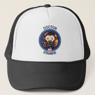 Kawaii Doctor Strange Emblem Trucker Hat