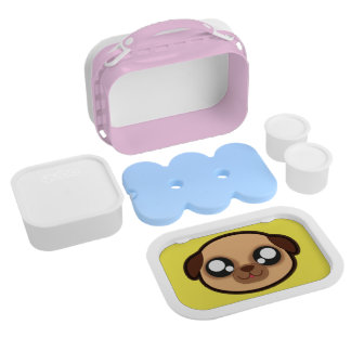 Kawaii dog lunchbox