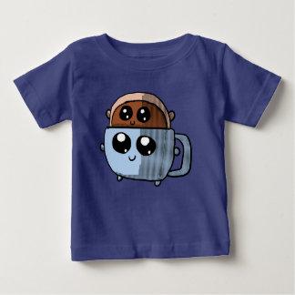 Kawaii donut in a kawaii coffee cup shirt