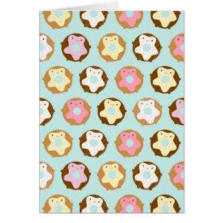 Kawaii Donuts Card