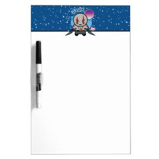 Kawaii Drax In Space Dry Erase Board