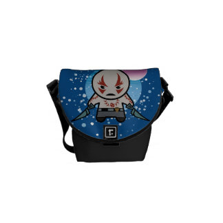 Kawaii Drax In Space Messenger Bag