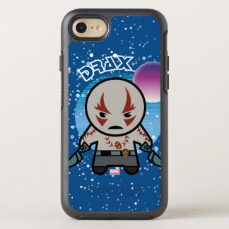 Kawaii Drax In Space OtterBox Symmetry iPhone 8/7 Case