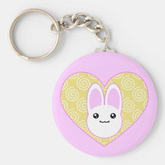 Kawaii Easter Bunny Keychain