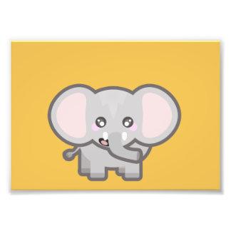Kawaii elephant art photo