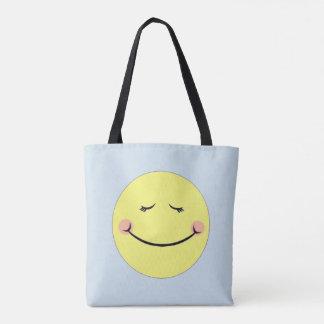 Kawaii emoji tote bag