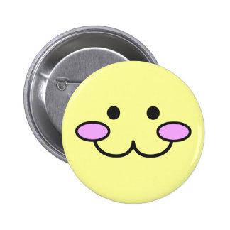 Kawaii Face Button 001
