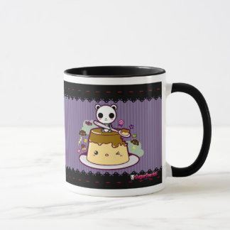 Kawaii Flan Attacked! Mug