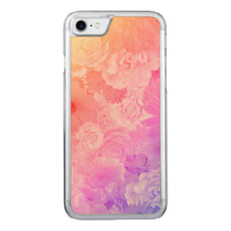 Kawaii Flowers Floral Carved iPhone 8/7 Case