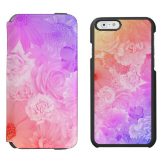 Kawaii Flowers Floral Incipio Watson™ iPhone 6 Wallet Case