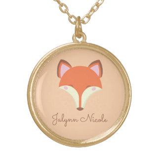 Kawaii Fox Gold Plated Necklace