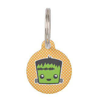Kawaii Frankenstein Dog Tag